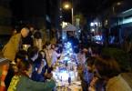 千代田区内の町会で開催された隣人祭